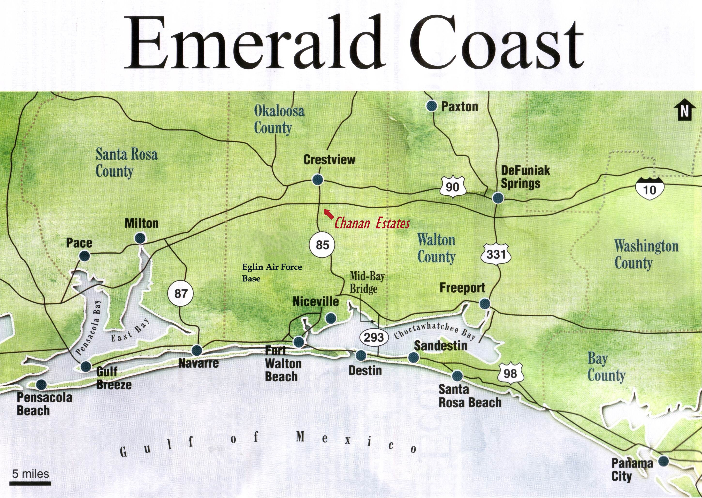 Emerald Coast Florida Map.Emerald Coast Of Florida Map Verkuilenschaaij